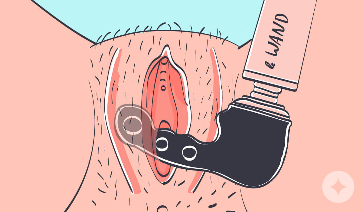 Le Wand's Ripple Attachment is designed for the 'traditional blended orgasm' (clitoral and vaginal orgasm).