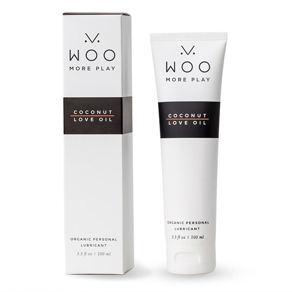 Woo More Play Coconut Love Oil Natural Lubricant