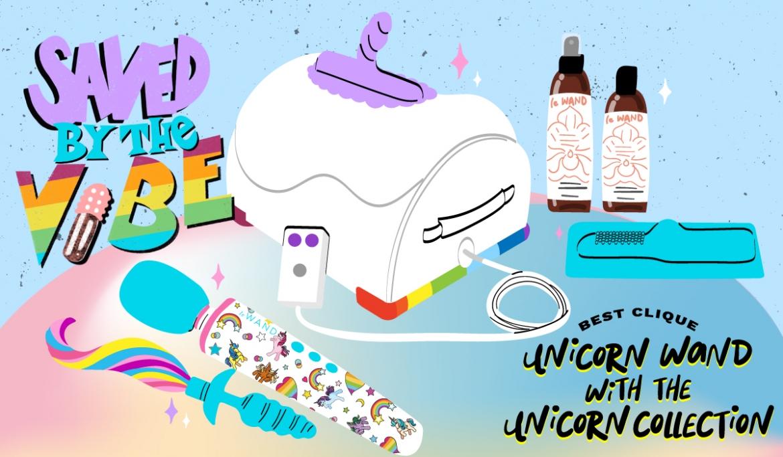 Saved by the Vibe #5: Unicorn Wand