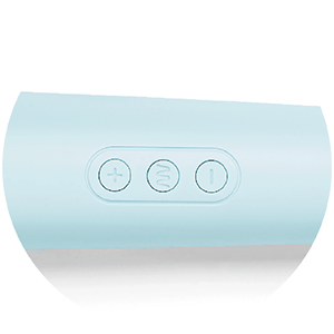 Activate the Le Wand Powerful Plug-In Vibrating Massager with its one-touch controls