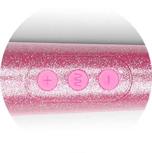 Turn on and glide through the settings of the Le Wand Petite Massager with one-touch, easy to use controls