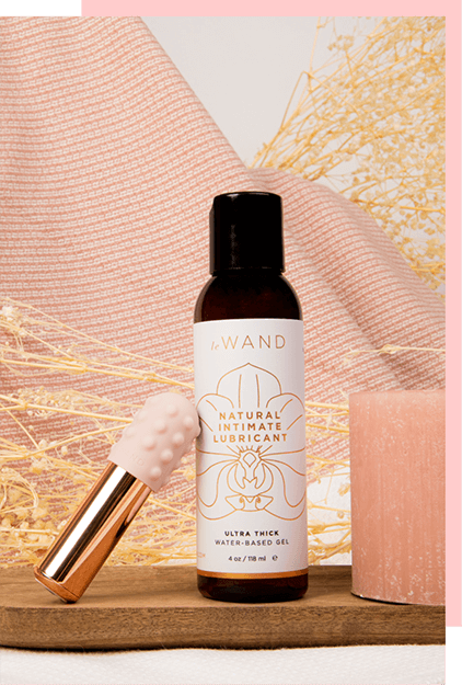 Le Wand Natural Intimate Water-Based Lubricant for Vaginal Play