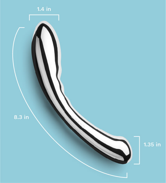 Le Wand Arch Stainless Steel Sex Toy Measurements