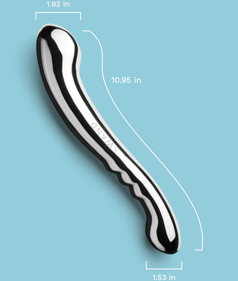 Le Wand Contour Stainless Steel Sex Toy Measurements