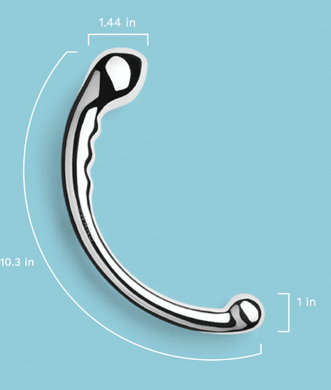 Le Wand Hoop Stainless Steel Sex Toy Measurements